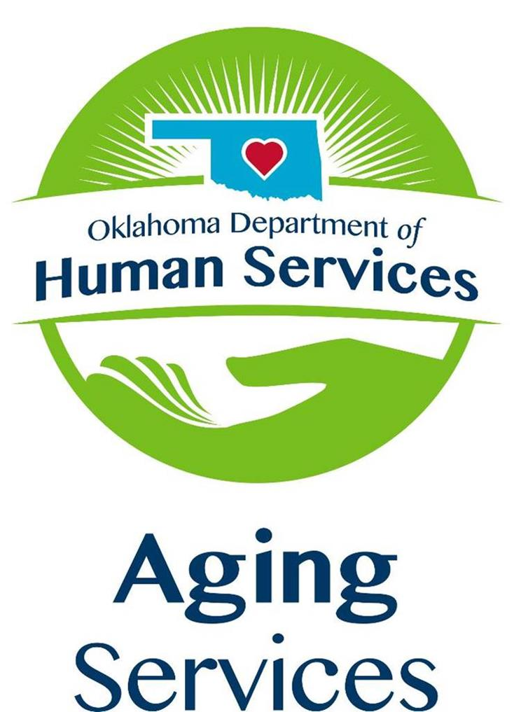 image: OK DHS Aging Services logo