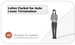 Image:  A2J Lease Termination packet