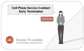Image:  Cell Phone Contract Termination