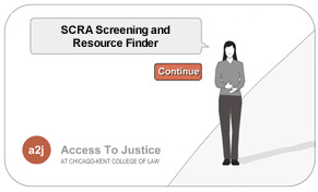 SCRA Screening and Resource Finder